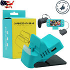 For Nintendo Switch/Lite Charger Charging Dock Station Stand With 4 2.0 USB HUB