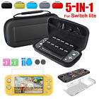 For Nintendo Switch Lite Carrying Storage Bag+Shell Cover+Glass Film Protective