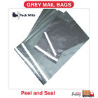 STRONG GREY MAILING POST BAGS POSTAGE POLY MAILPEELAND SEAL POSTAL BAG ALL SIZES