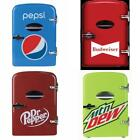 6 Can Cooler/Mini Fridge Office Personal Portable Car or Wall Plug In, Compact