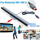 For Nintendo Wii/Wii U Wired Infrared Motion Sensor Bar Remote IR Ray Indutor US