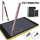 3 in 1 Touch Screen Pen Stylus Pencil Universal for iPad Tablets Phones Drawing