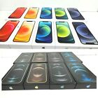 iPhone 12 Pro Max 12 Mini Empty Retail Box with Cable & Manual Logo Sticker New