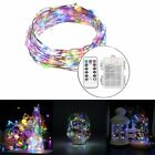 7.5m 3AA Battery Box Copper Wire Fairy String Lights 8 Mode Remote Control