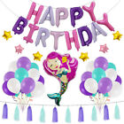 Happy Birthday Theme Sets Pretty Party Decorations Supplies Balloons For Girls