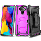 RUGGED ARMOR FULL BODY TANK Clip Holster Stand Phone Case Cover SCREEN PROTECTOR