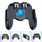 PUBG Mobile Phone Game Gamepad Joystick + Cooling Fan Controller for iOS Android