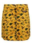 Run  Fly Skirt Bizzy Bee Dinosaur Corduroy Women's Gold