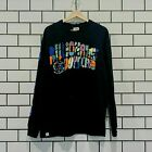 BILLIONAIRE BOYS CLUB BBC ABSTRACT ARCH LS KNIT BLACK