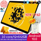 """12+512g Android 10.0 Tablet 10.1"""" Inch Wifi Tablet Hd 10 Core Gps Dual Camera 5g"""