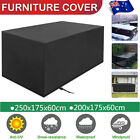 Large Waterproof Furniture Cover Garden Outdoor Patio Uv Table Desk Protector