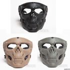 FMA Halloween Cosplay Tactical Airsoft Skeleton Skull Full Face Mask