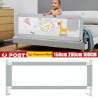 2m Kid Toddler Baby Bed Rail Guard Fence Bumper Playpen Cot Safe Equipment