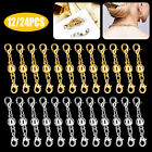 10/20PCS DIY Magnetic Lobster Claw Clasps Necklace Jewelry Bracelets Gold Silver