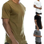 Tops Short Sleeve T-Shirt Casual Long Black S/M/L/XL Durable Practical