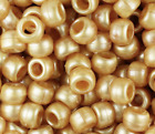200 Pony Beads 9 x 6MM With 4mm Large Hole high Quality Pearl, Matte, Sparkle