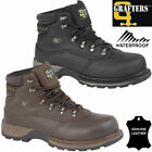 Mens Waterproof Leather Safety Boots Steel Toe Cap Work Hiking Shoes Ankle Boots