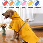 Waterproof g Raincoat Pet Clothes Hoodie Jacket Outdoor For Small Larg
