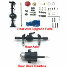 Wpl D12 Rc Car Spare Accessories Rear Drive Gearbox Axle Diy Upgrade Parts