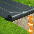 1M 2M 3M 4M LONG HEAVY DUTY WEED CONTROL FABRIC GROUND COVER MEMBRANE LANDSCAPE