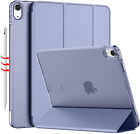 10.9 iPad Air 4 Case Flip Cover Folio Full Body Protection With Pencil Holder