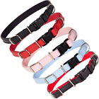 Dog Collar Eco Leather Strong Adjustable Pet Puppy 5 Colours Padded DogCentre®