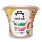 Mama Bear Organic Baby Food Vegetable Variety Pack 4 Ounce Tub Pack of 12