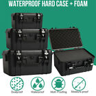 Protective Hard Carry Case Camera Travel Equipment Waterproof Storage Box Black