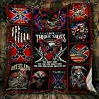 The Side You Never Want To See Redneck Fleece Blanket/Sherpad Blanket