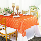 """Wedding Linens Inc. 54"""" x 108"""" Rectangular Lace Table Overlays, Lace Tablecloths"""
