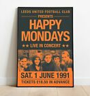 Happy+Mondays+Gig+Poster%2C+Reworked+Concert+Poster%2C+Wall+Art