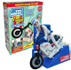 Evel Knievel Stunt Cycle White Trail Bike 70's Motorcycle Icon LTD EDITION White
