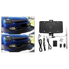 Cover Up Stealth License Plate Frame with Remote Control Bracket Rust Proof