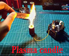 Electronic candle plasma candle HFSSTC Tesla coil high frequency plasma