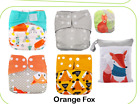 Full Set Cloth Diaper Pocket & All-in-one AOI Pack Liner Wet Bag Mixed Inserts