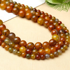 Natural dragon agate loose beads dragon scale beaded accessories 4mm-10mm 5A