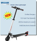 """250W Adult Electric Scooter 18MPH Max 6"""" Non-pneumatic Tire Lightweight eScooter"""