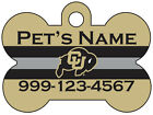 Colorado Buffaloes | NCAA Pet Id Dog Tag | Personalized for Your Pet