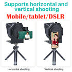 Ulanzi Protable Teleprompter For Smartphone Tablet DSLR Camera Recording Remote