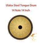 Ulalov Percussion Drum 14 Note with Mallet Book Padded Bag Fer Pick Ideal for