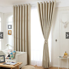 2 Panels Grommet High Blackout Thermal Bedroom Window Curtain Drapes 63' 84'L