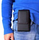GB-Store Belt holder Magnetic Leather Pouch holster Case Cover for Mobile Phone