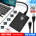 1x USB 3.0 Portable External Hard Disk Drive HDD Storage For PC Laptop Computer picture
