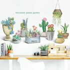 Wall Stickers Removable Room Decor Vinyl Potted Plants Decal Self Adhesive Mural