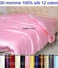 1 Pc 30mm 100% Pure Silk Duvet Quilt Doona Cover Bedding Linen All Size