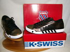 SALE K-Swiss ladies lace up casual trainer  Bronze/Black Leather MOULTON LOW