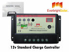 Solar Battery Charge Controller 10Amp for PV Solar Panels Suitable for 12/24V