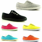 WOMENS FLAT PUMPS LADIES TRAINERS DIAMANTE SHOES SIZES
