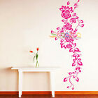 Wall Decor Decal Sticker Removable large rose flower 5' DC0364