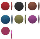 Matte Rubberized Flat Round Disc Acrylic Beads 41mm  *Many Colors to Choose